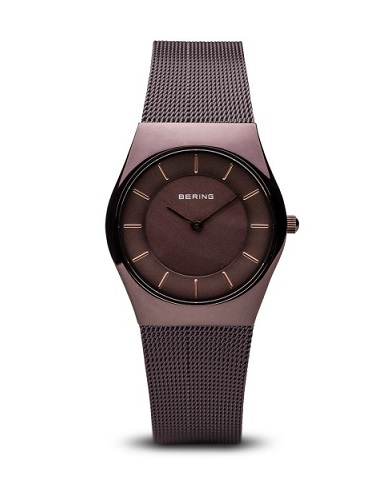 Bering Classic Donna marrone brillante